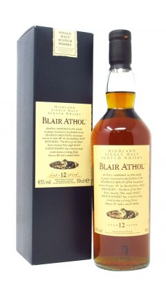 Blair Athol - Flora and Fauna 12 year old Whisky