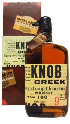 Knob Creek - Small Batch Bourbon (old bottling) 9 year old Whiskey