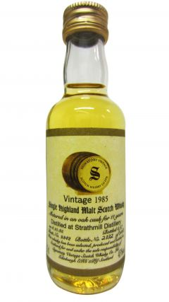 Strathmill - Signatory Vintage Miniature - 1985 11 year old Whisky