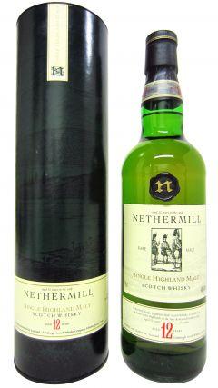 Fettercairn - Nethermill Single Highland Malt 12 year old Whisky
