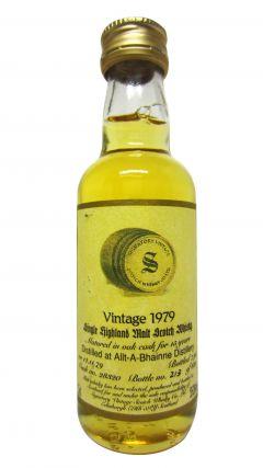 Allt-a-Bhainne - Signatory Vintage Miniature - 1979 15 year old Whisky