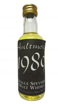 Aultmore - The Whisky Connoisseur Miniature - 1989 Whisky