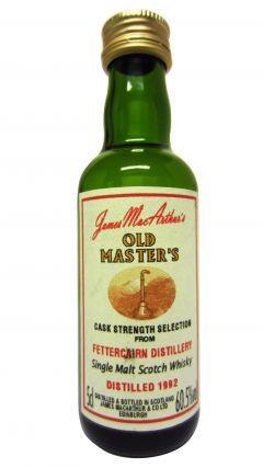 Fettercairn - James MacArthur Old Master's Miniature - 1992 Whisky