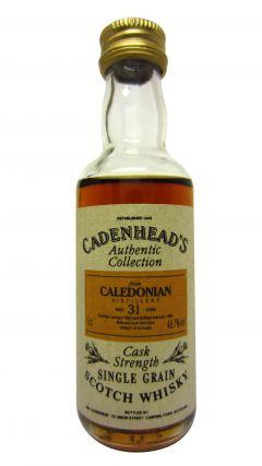 Caledonian - Cadenhead's Miniature - 1963 31 year old Whisky