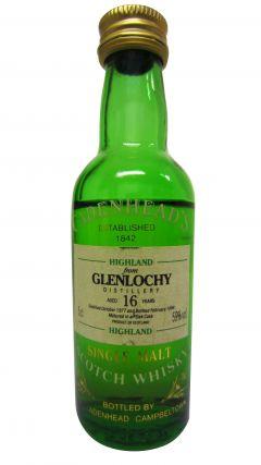 Glenlochy (silent) - Cadenhead's Miniature - 1977 16 year old Whisky