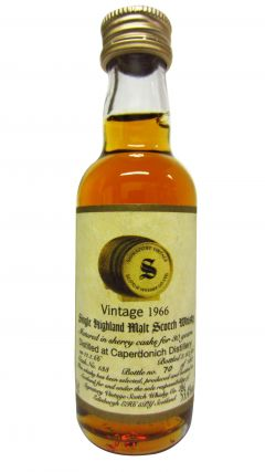 Caperdonich (silent) - Signatory Vintage Miniature - 1966 30 year old Whisky
