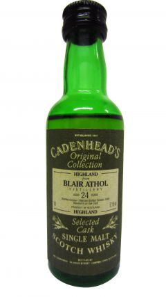 Blair Athol - Cadenhead's Miniature - 1966 24 year old Whisky
