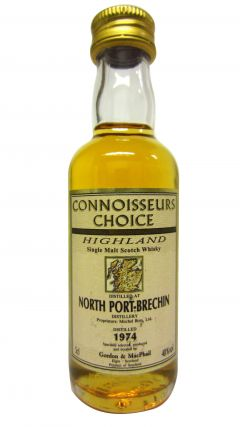 North Port (silent) - Connoisseurs Choice Miniature - 1974 Whisky