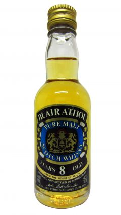 Blair Athol - Pure Malt Miniature 8 year old Whisky