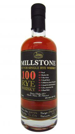 Zuidam - Millstone 100 Rye Single Cask #605 - 2004 10 year old Whisky