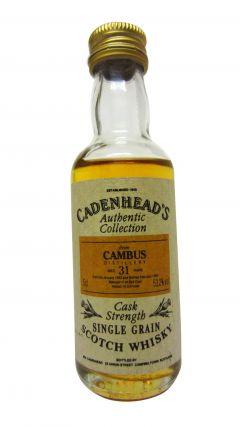 Cambus (silent) - Cadenhead's Miniature - 1963 31 year old Whisky