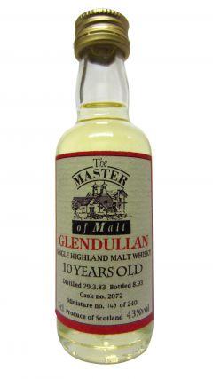 Glendullan - Single Highland Malt Miniature 10 year old Whisky