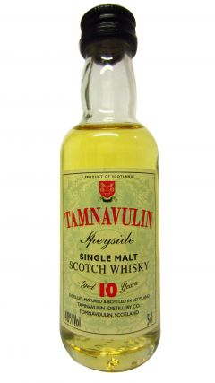 Tamnavulin - Speyside Single Malt Miniature 10 year old Whisky