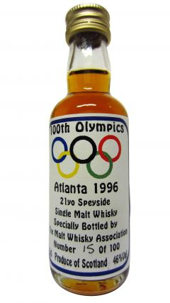 Secret Speyside - 100th Olympics Atlanta 1996 Miniature - 1975 21 year old Whisky