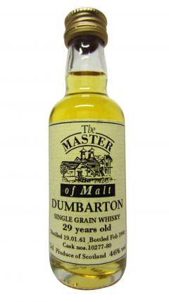 Dumbarton (silent) - Single Grain Miniature - 1961 29 year old Whisky