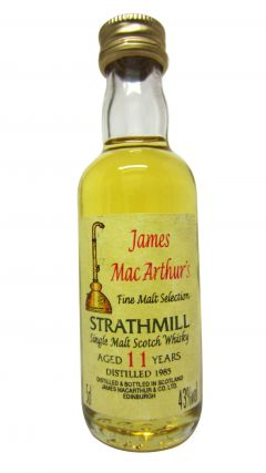 Strathmill - James MacArthur Fine Malt Miniature - 1985 11 year old Whisky