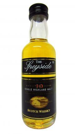 Speyside - Single Highland Malt Miniature 10 year old Whisky