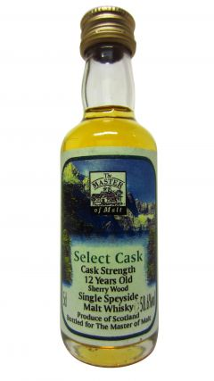 Secret Speyside - Select Cask Miniature 12 year old Whisky