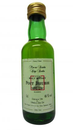 Poit Dhubh - Malt Miniature 12 year old Whisky