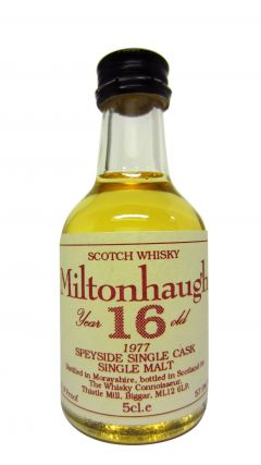 Balmenach - Miltonhaugh Miniature - 1977 16 year old Whisky