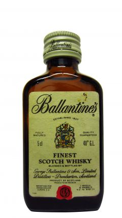 Ballantines - Finest Scotch Miniature Whisky