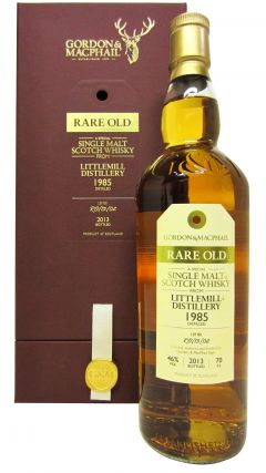 Littlemill (silent) - Rare Old - 1985 28 year old Whisky