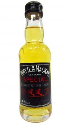 Whyte + Mackay - Special Blended Scotch Miniature Whisky
