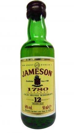 Jameson - Old Irish Miniature 12 year old Whiskey