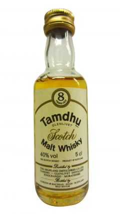 Tamdhu - Scotch Malt Miniature 8 year old Whisky