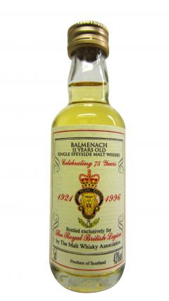 Balmenach - Royal British Legion 75 Years Miniature - 1985 11 year old Whisky