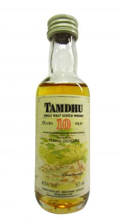 Tamdhu - Single Malt Miniature 10 year old Whisky