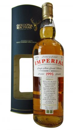 Imperial (silent) - Single Malt Scotch (Distillery Label) - 1995 19 year old Whisky