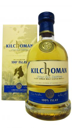 Kilchoman - 100% Islay 4th Edition 5 year old Whisky