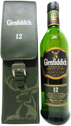 Glenfiddich - Limited Edition Single Malt in Leatherette Case 12 year old Whisky