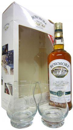 Bowmore - Islay Single Malt Gift Pack + 2 Glasses 12 year old Whisky