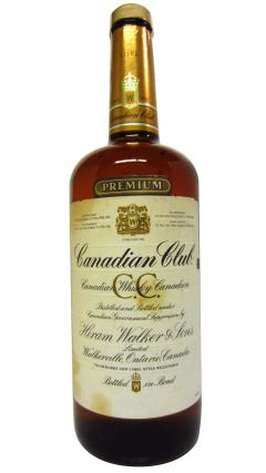Canadian Club - Premium Blended Candian (1 Litre) - 1983 Whisky