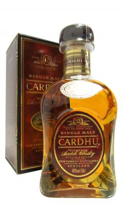 Cardhu - Highland Single Malt  (old bottling) 12 year old Whisky