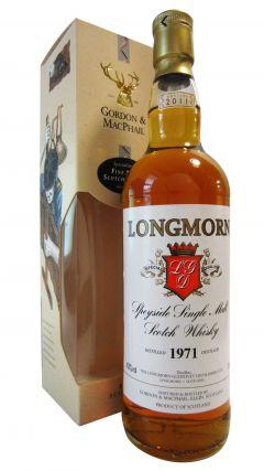 Longmorn - Speyside Single Malt - 1971 40 year old Whisky