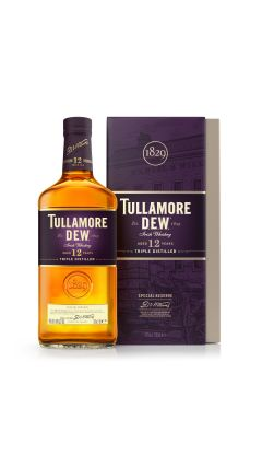 Tullamore Dew - Triple Distilled Special Reserve 12 year old Whiskey