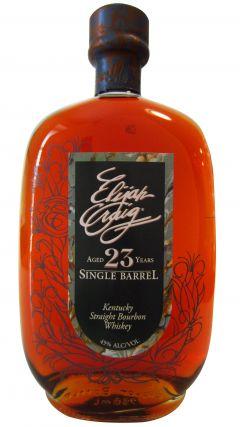 Elijah Craig - Single Barrel - 1990 23 year old Whiskey