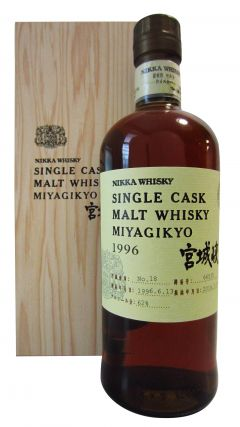 Nikka Miyagikyo - Single Cask #66535 - 1996 18 year old Whisky