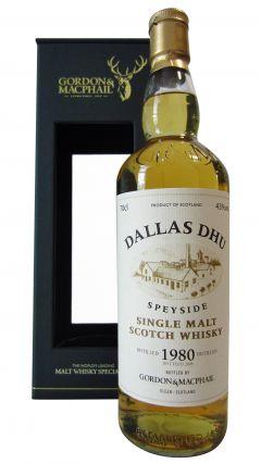 Dallas Dhu (silent) - Speyside Single Malt Scotch - 1980 34 year old Whisky