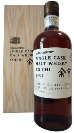 Nikka Yoichi - Single Cask #129459 - 1991 23 year old Whisky