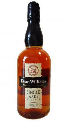 Evan Williams - Single Barrel Vintage - 2003 10 year old Whiskey
