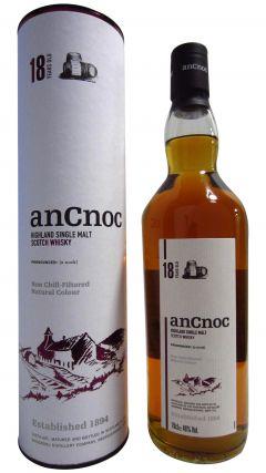 anCnoc - Highland Single Malt 18 year old Whisky