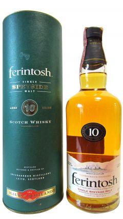 Ben Wyvis (silent) - Ferintosh Single Speyside Malt 10 year old Whisky
