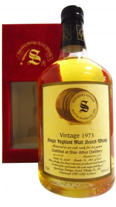 Blair Athol - Signatory Vintage - 1973 25 year old Whisky