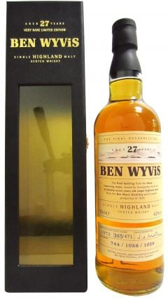 Ben Wyvis (silent) - The Final Resurrection - 1972 27 year old Whisky