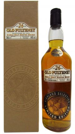 Old Pulteney - Limited Bourbon Cask Edition - 1974 26 year old Whisky
