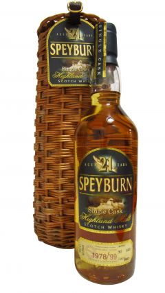 Speyburn - Single Cask - 1978 21 year old Whisky